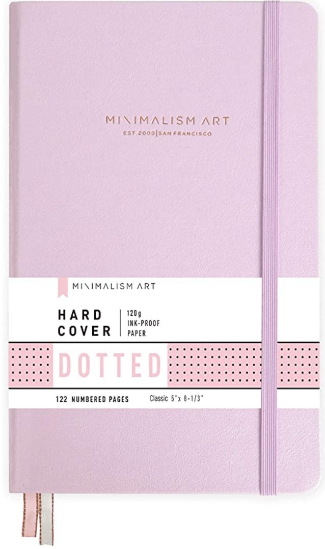Minimalism Art, Premium Hard Cover Notebook Journal,