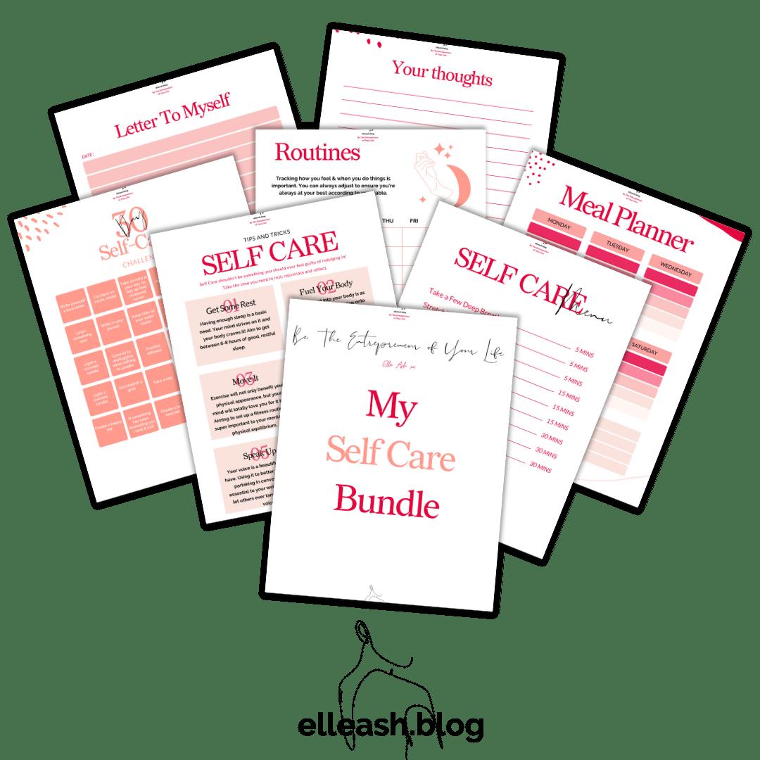 self care bundle template